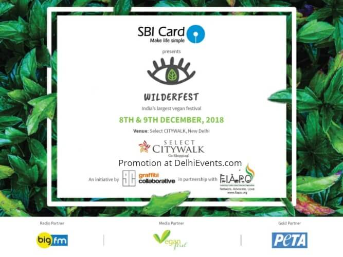 Wilderfest Delhi 2018 Vegan Fest Select Citywalk Creative