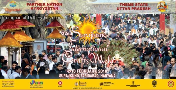 32nd Surajkund International Craft Mela 2018 Creative