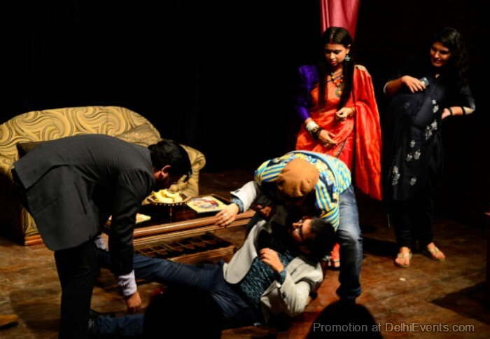 Atelier Theatre Khusar Phusar Hinglish Comedy Play Still