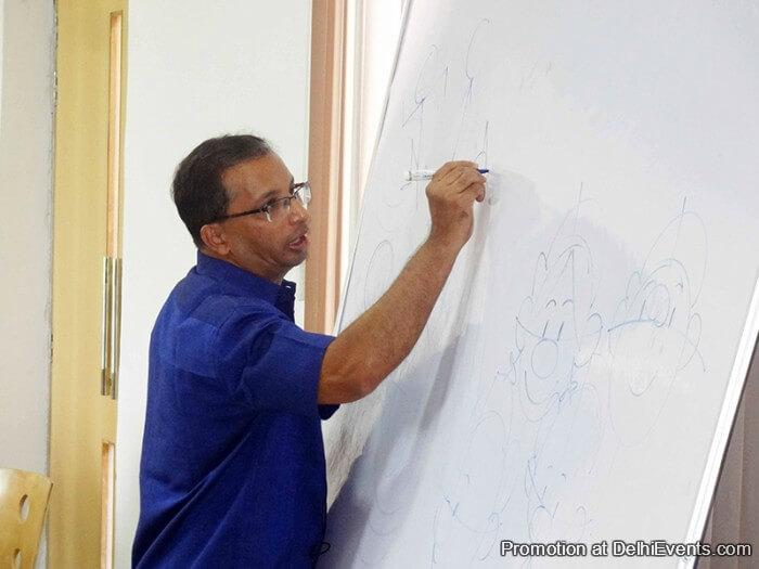 Cartoonist Ajit Narayan