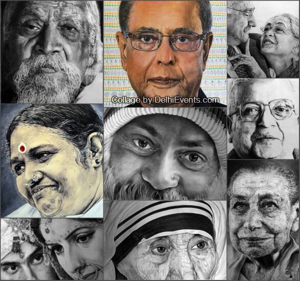 Portrait Artworks Dipak Kumar Ghosh