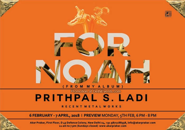 For Noah From Album Prithpal S. Ladi Exhibition Creative