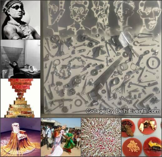 India influence Art Exhibition 2018 Artworks