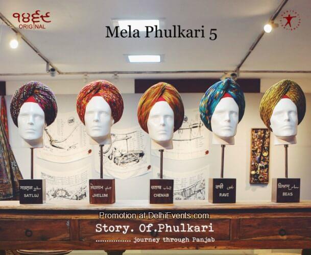 Mela Phulkari Art Show Punjab Open Palm Court Gallery Creative