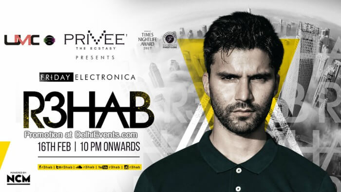 Friday Electronica R3hab Privee Creative