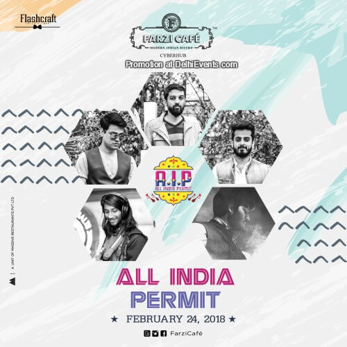 All India Permit Band Farzi Cafe Gurugram Creative