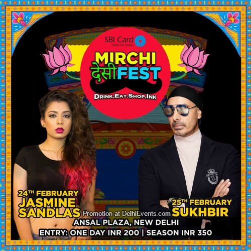 Mirchi DESI Fest Ansal Plaza Creative