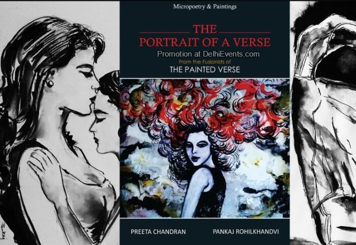 Portrait Verse Micropoetry Paintings Preeta Chandran Pankaj Rohikhandvi Creative