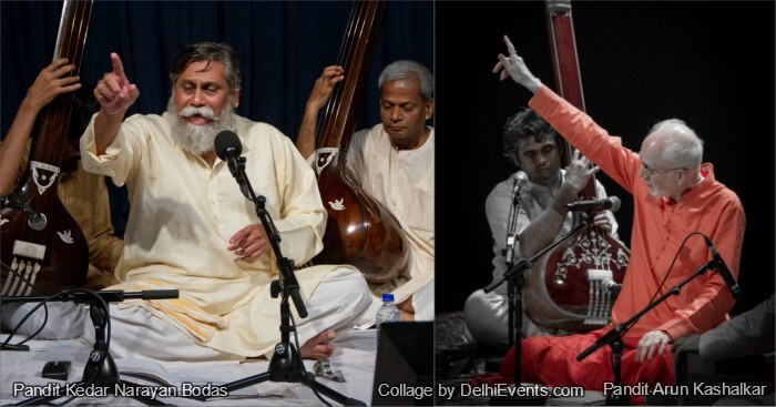 Musicians : Arun Kashalkar Pandit Kedar Narayan Bodas
