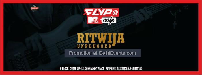 Ritwija unplugged Flyp MTV Cafe Creative
