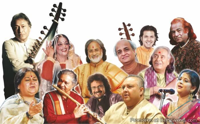 Swami Haridas Tansen Sangeet Nritya Mahotsav Artists