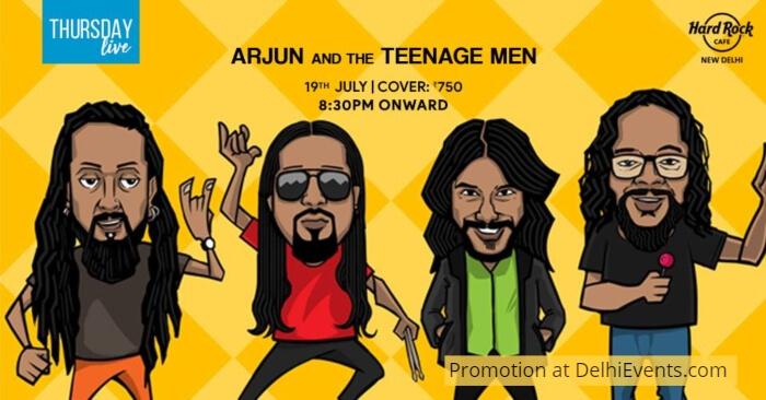 Arjun Teenage Men Hard Rock Cafe Creative