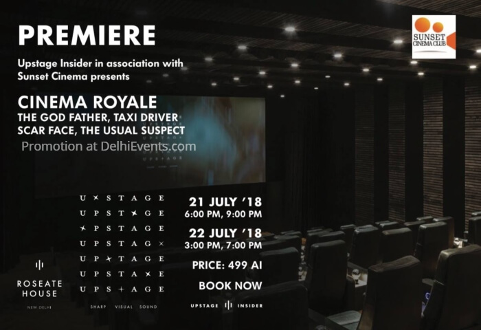 Cinema Royale Roseate House Creative