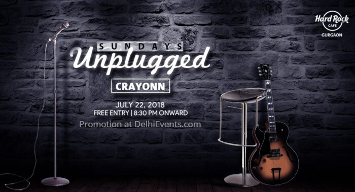 Crayonn Hard Rock Cafe Gurugram Creative
