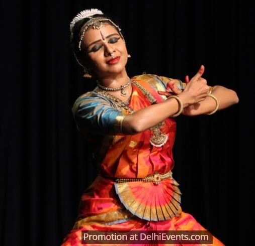 Bharatanatyam Dancer Archana Narayanamurthy