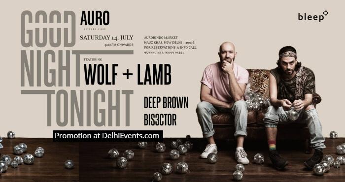 Good Night Tonight Wolf Lamb Auro Kitchen Bar Creative