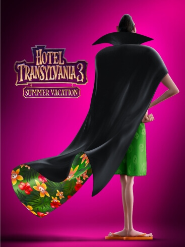 Hotel Transylvania Summer Vacation Animation Comedy Film Poster