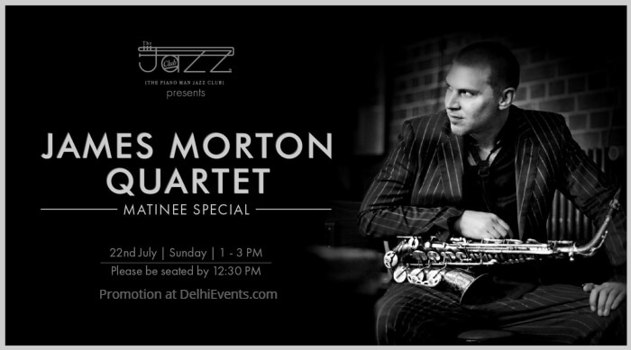 James Morton Quartet Matinee Special Piano Man Jazz Club Creative