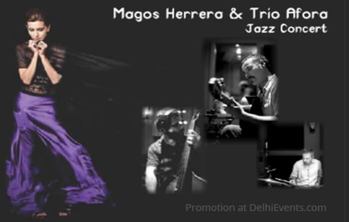 Jazz Concert Magos Herrera Trio Afora Creative