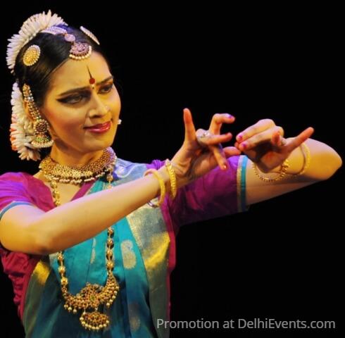 Bharatanatyam Dancer Madhura Bhrushundi