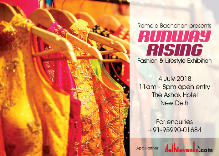 Ramola Bachchan Runway Rising 2018 Hotel Ashok Creative