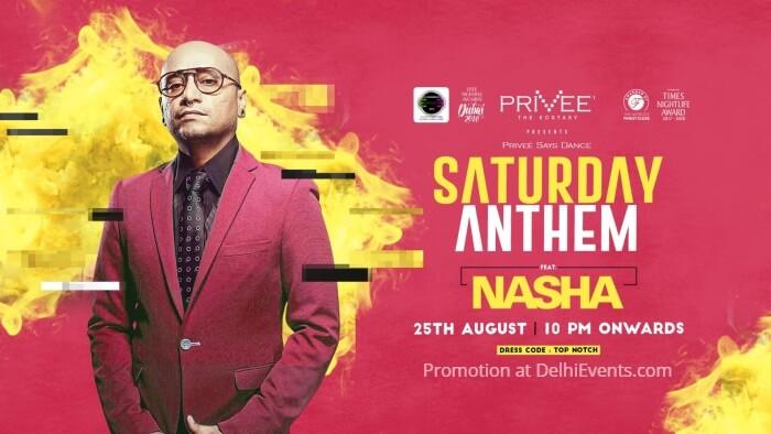Saturday Anthem Nasha Privee Creative