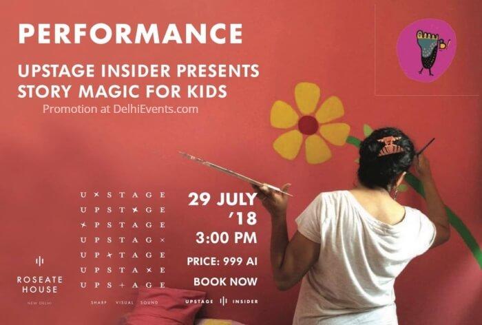 Story Magic Immersive Children workshop Roseate House Creative
