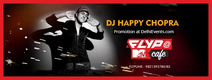 SwagNights DJ Happy Chopra Flyp MTV Cafe Creative