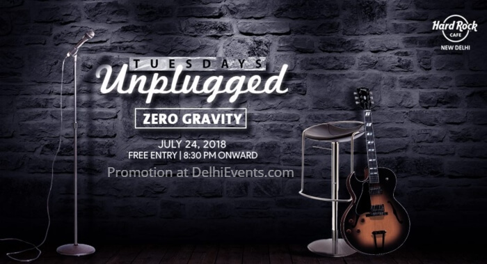 Zero Gravity Tuesdays Unplugged Hard Rock Cafe Creative