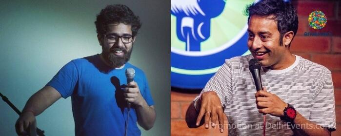 Comedians Shivam Amar