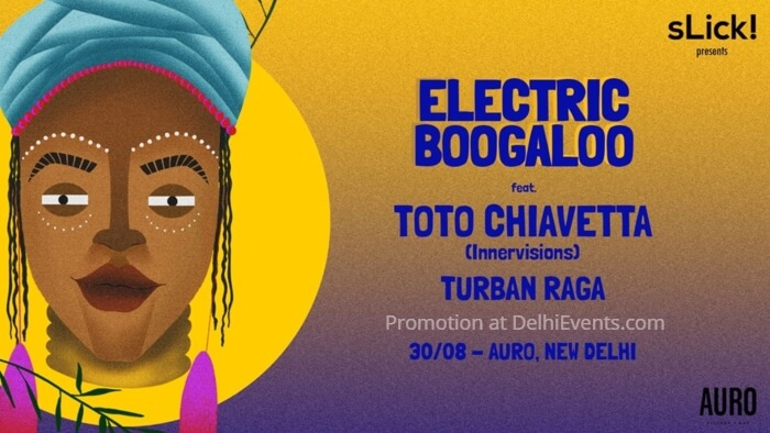 Electric Boogaloo feat Toto Chiavetta Auro Kitchen Bar Creative
