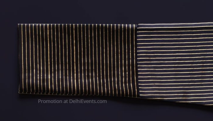 Kshitij Jalori Label Showcasing Indian Textile Photo