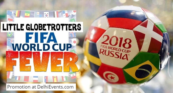 Hands On Little Globetrotters FIFA World Cup Fever Kids Workshop Creative