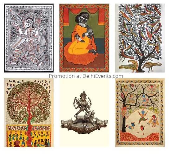 Lokatma Swayambhuva Indian Folk Art Show Artworks