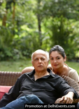 Mahesh Bhatt with Pooja Bhatt