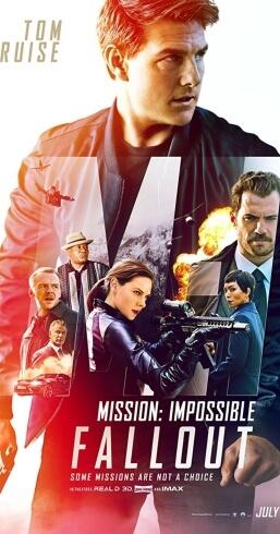 Mission Impossible Fallout Movie Poster