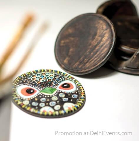 Coasters artwork Richa Kedia