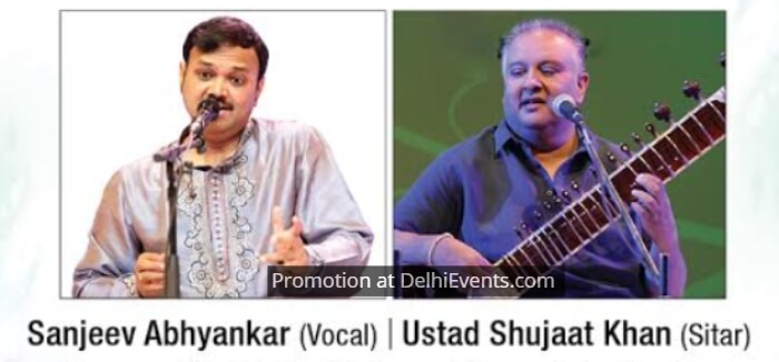 Sanjeev Abhyankar Vocal Ustad Shujaat Khan Sitar- Musicians