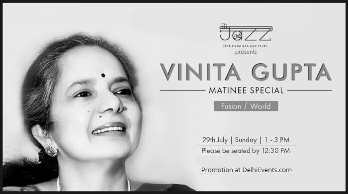 Vinita Gupta Matinee Special Piano Man Jazz Club Creative