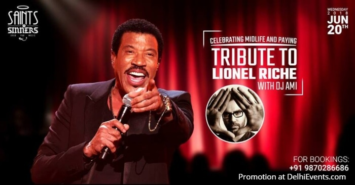 Celebrating Midlife Tribute Lionel Richie Saints N Sinners Creative