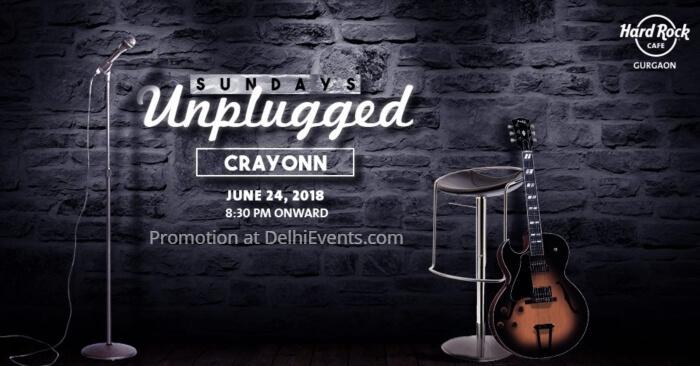 Crayonn band Hard Rock Cafe Gurugram Creative