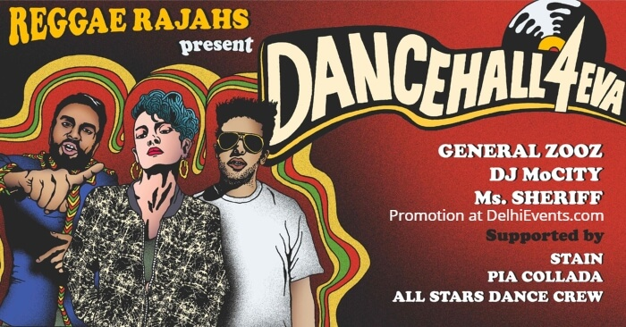 Dancehall 4EVA General Zooz DJ MoCity Ms Sheriff Creative