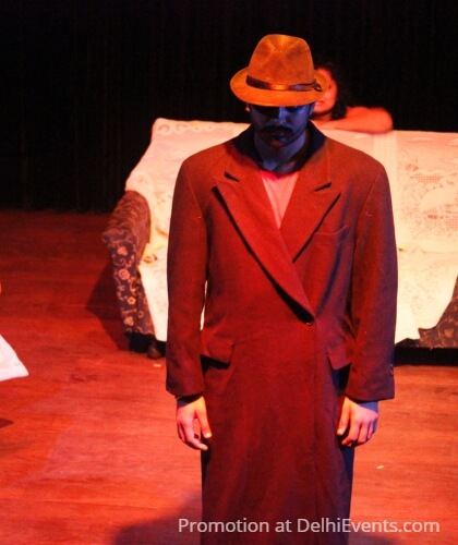 Cineaste Death Stage Hinglish Comedy Play Still
