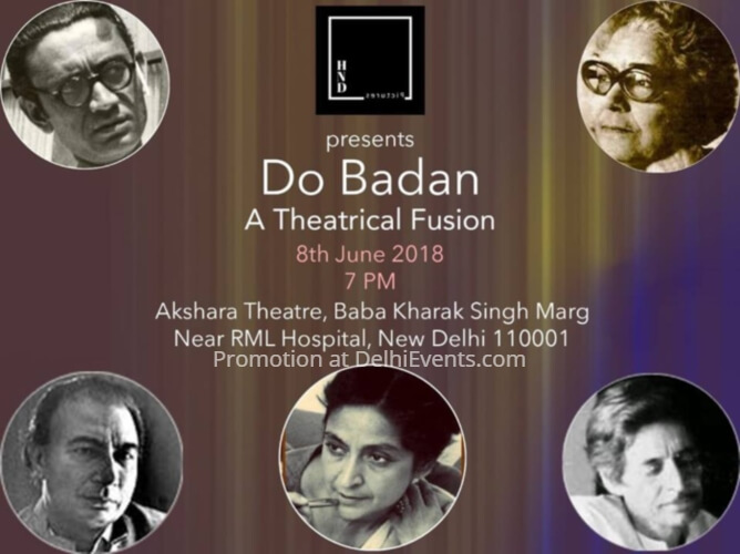 Do Badan Theatrical Fusion poetry storytelling Akshara Theatre Creative