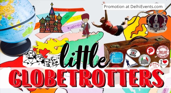 Hands On Little Globetrotters Workshop Kids Creative