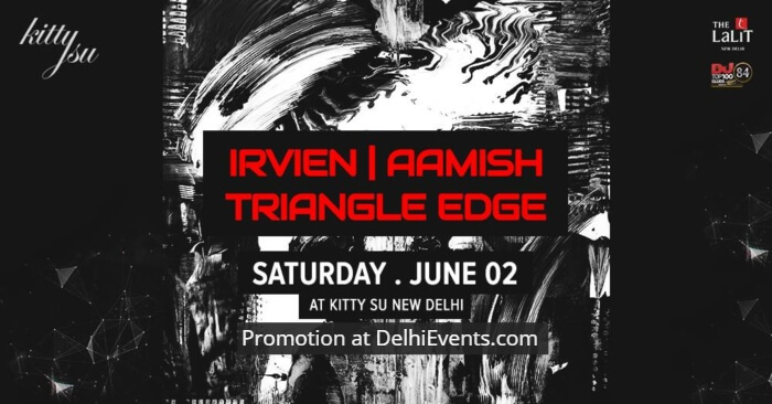 Irvien Aamish Triangle Edge Kitty Su Creative