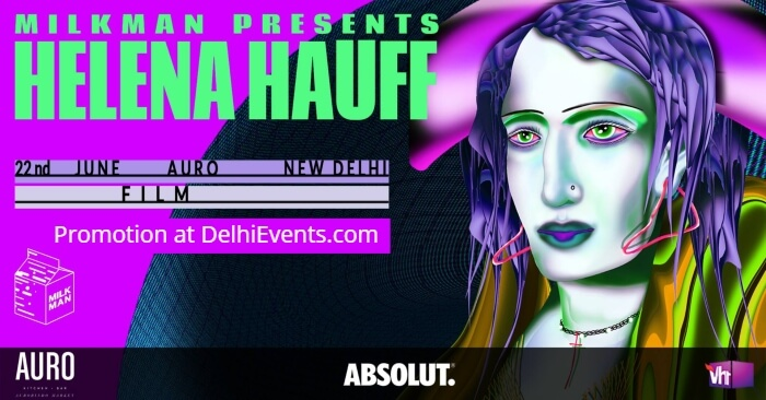 Milkman Helena Hauff Auro Kitchen Bar Creative