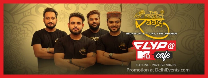 Project Raag Flyp MTV Cafe Creative