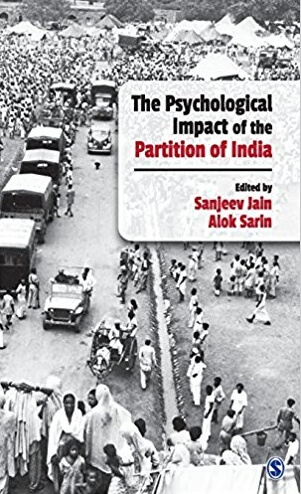 Psychological Impact Partition India Book Cover