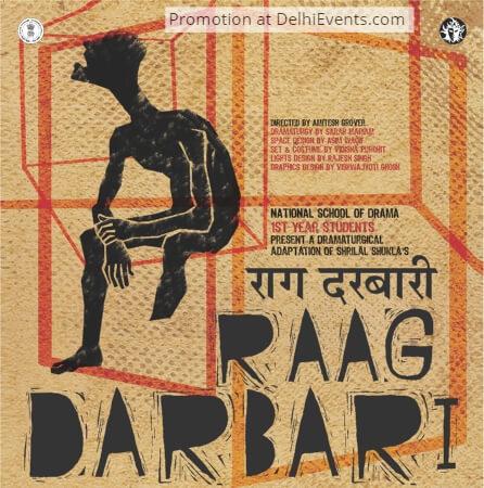 NSD First year students Shrilal Shukla Raag Darbari Hindi Play Creative
